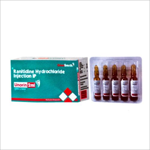 2 ML Ranitidine Hydrochloride Injection IP