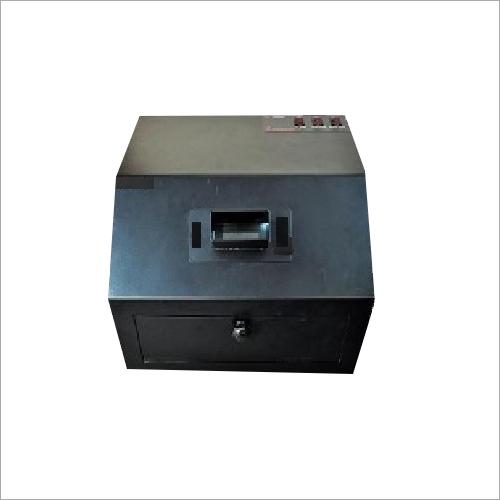 Black Ultra Violet Inspection Cabinet