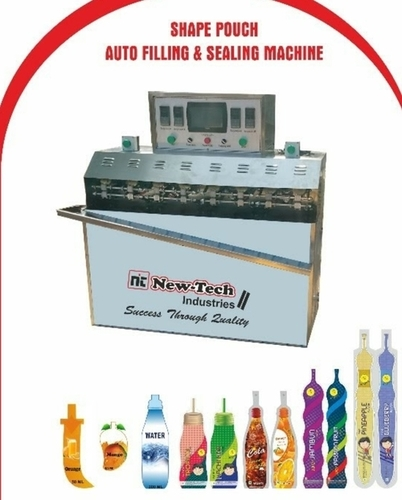 Shape Pouch Auto Filing & Sealing Machine