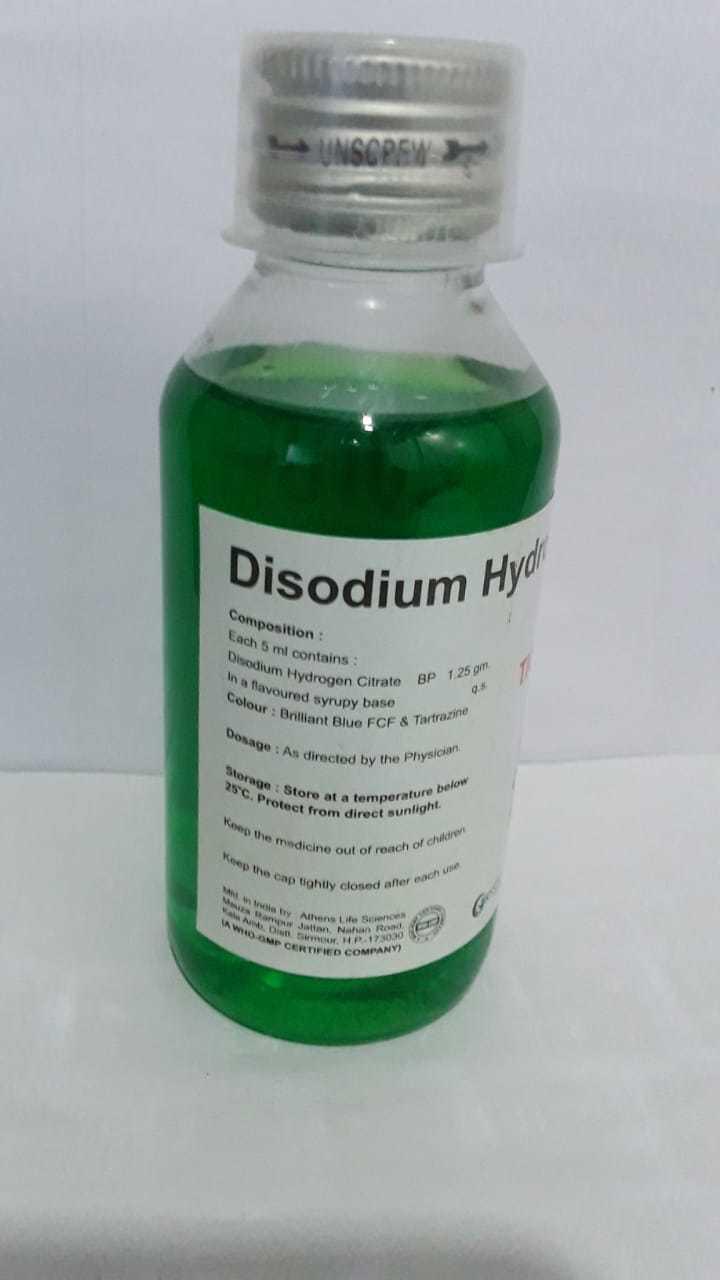 Disodium Hydrogen Citrate 1.25