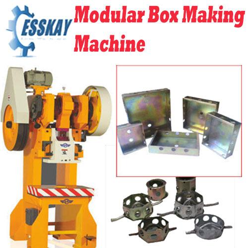 Electrical Modular Box Making Machine