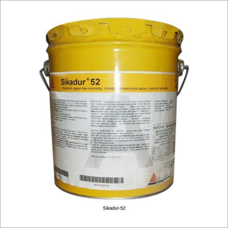 Sikadur-52 Low Viscosity Injection Epoxy Resin