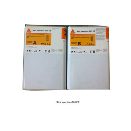 Sika Injection-201CE Elastic PUR Injection Resin