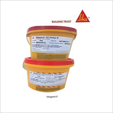 Sikagard-67 2 Part Water Based Epoxy Protective Coating