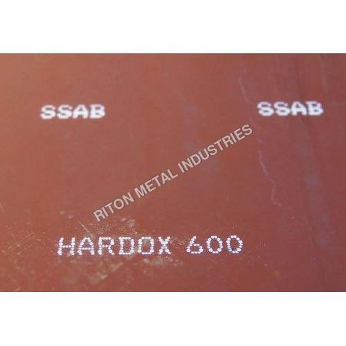 Hardox 600 Plates