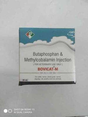 BUTAPHOSPHAN & METHYLCOBALAMIN Injection For Veterinary use only
