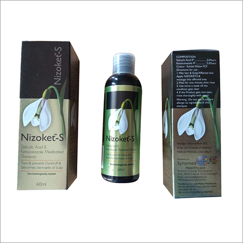 Salicylic Acid and Ketoconazole Medicated Shampoo