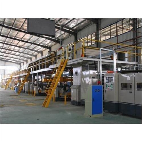 Automatic Corrugated Box Plant Machinery