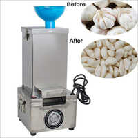 Small Dry Garlic Peeling Machine Table Top