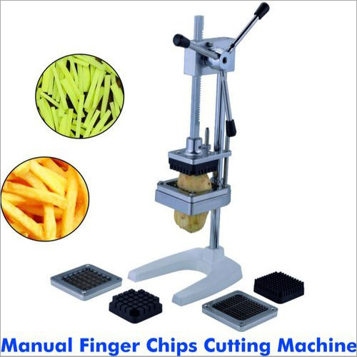 Manual Finger Chips Cutting Machine
