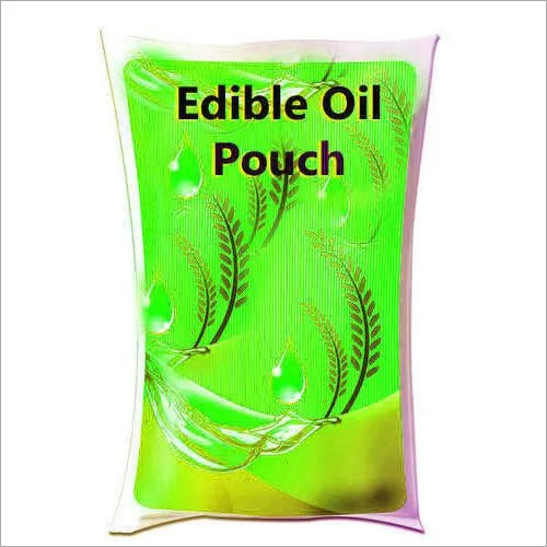 Edible Oil Laminated Packaging Pouch