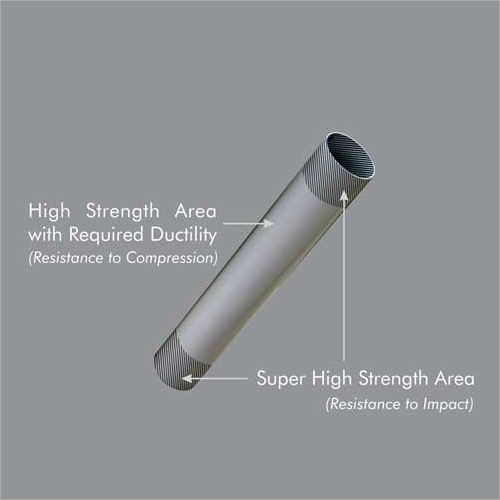 End Hardened Steel Cheese Tubes