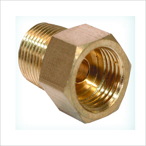 Brass Inverted Male Connector
