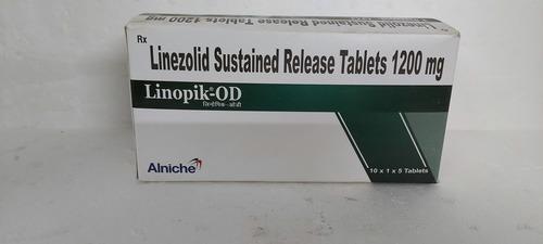 LINOPIK-OD - LINEZOLID SUSTAINED RELEASE TABLETS 1200MG