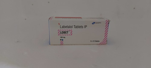 LOBET - LABETALOL TABLETS IP 100MG