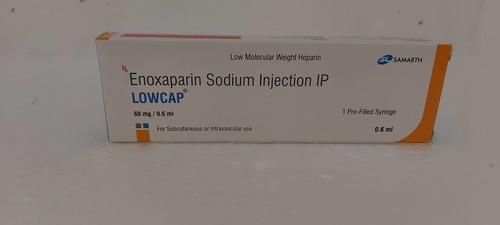 LOWCAP - ENOXAPARIN SODIUM INJECTION IP 60MG/0.6ML