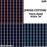 Swiss Cotton yarn dyed