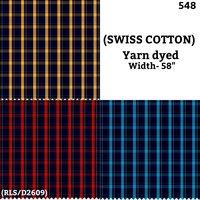 Swiss Cotton yarn dyed