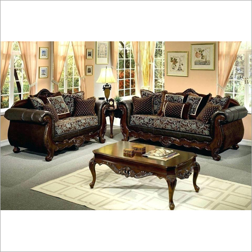 Wooden Designer Sofa Set