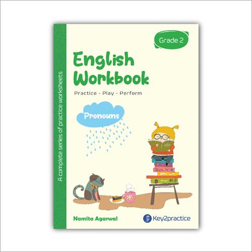 Kids Class 2 English Pronouns Practice Workbook