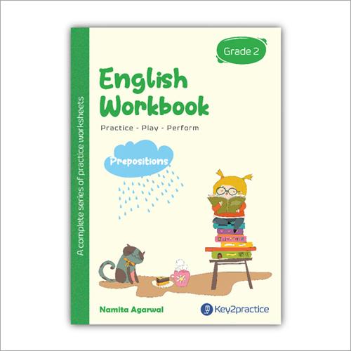 Kids Class 2 English Prepositions Practice Workbook