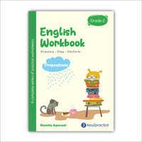 Kids Class 2 English Practice Workbook