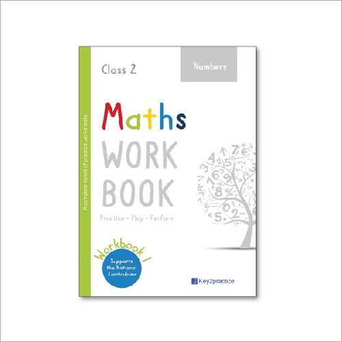 Kids Class 2 Maths Numbers Practice Workbook