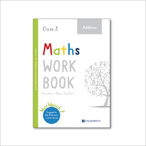 Kids Class 2 Maths Addition Practice Workbook