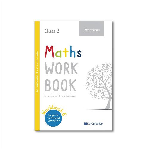 Kids Class 3 Maths Fractions Practice Workbook