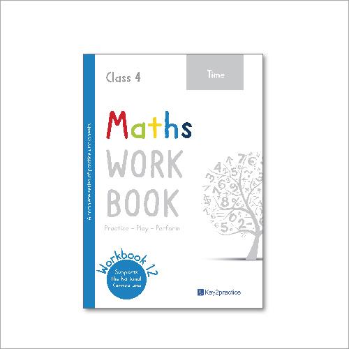 Kids Class 4 Maths Time Practice Workbook