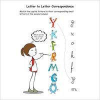 Kids Pre Primary English Alphabets Practice Workbook