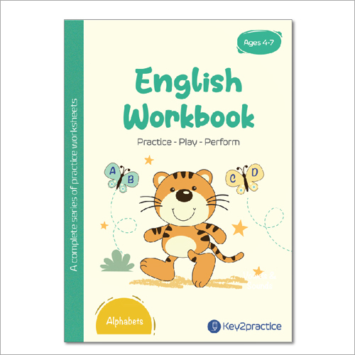 Kids Class 1 English Adjectives Practice Workbook