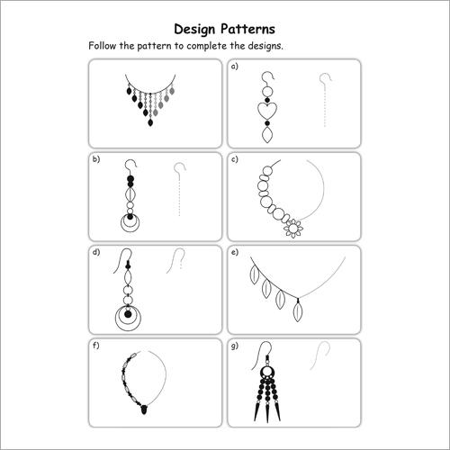 Kids Class 1 Maths Patterns Practice Workbook