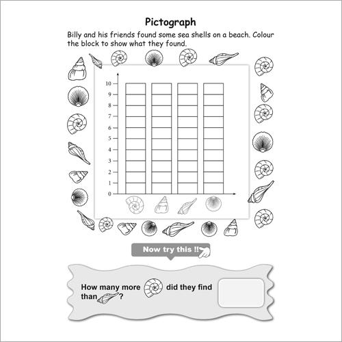 Kids Class 1 Maths Data Handling Practice Workbook