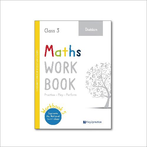 Kids Class 3 Maths Division Practice Workbook