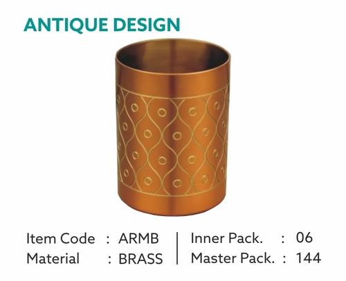 Unique Brass Glass