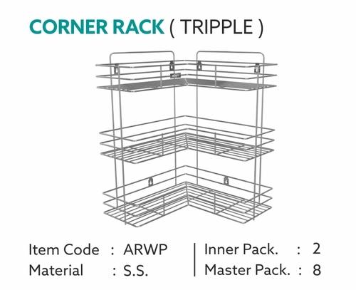 SS Corner Rack
