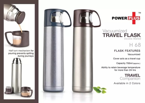 Vacuumized Travel Flask