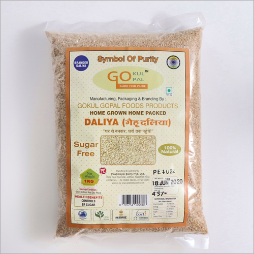 Sugar Free Daliya