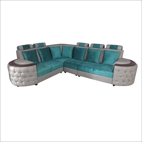 L Shape Cushion Sofa Set