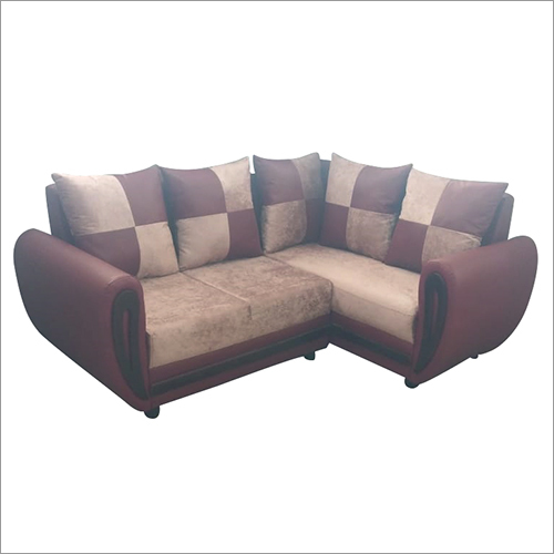 3 Seater L Shape Sofa Set