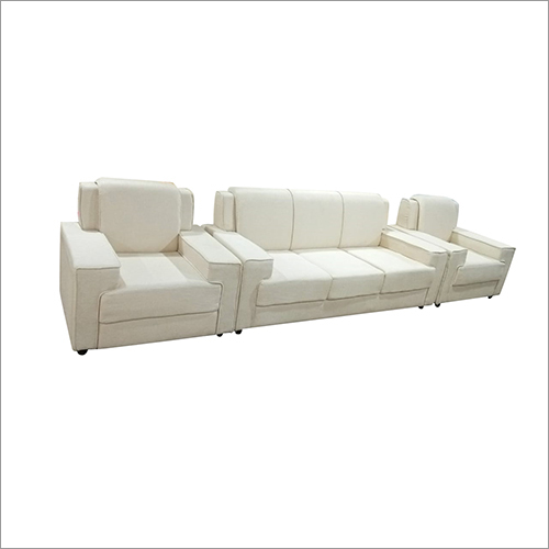 White Cushion Sofa Set