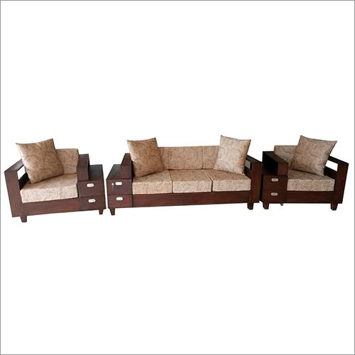 Wooden Cushion Sofa Set