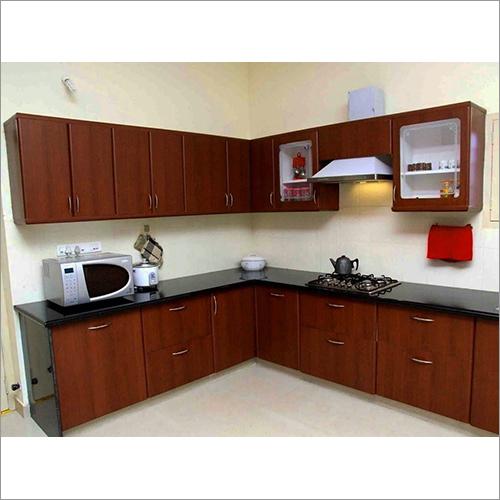 L Shape Modular Kitchen Interior Designer Services