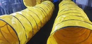 Industrial Loading Spouts Cloth