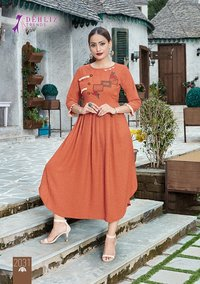 Paridhan Wholesale Handwork Kurti Set