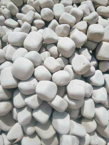 White sandstone pebble