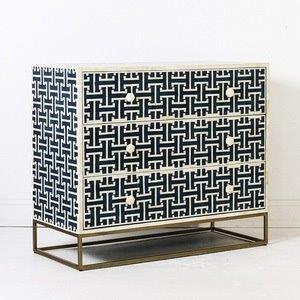 Bone Inlay Modern Sideboard