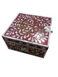 Bone Inlay Small Box