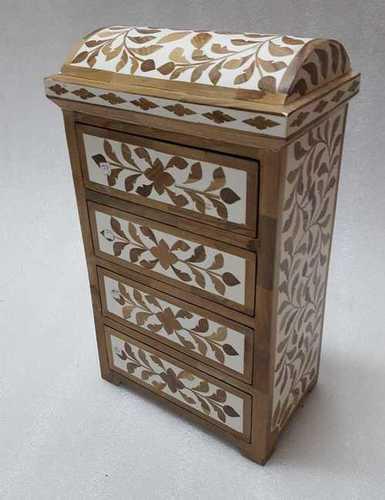 Bone Inlay Bindi and Sindoor Box